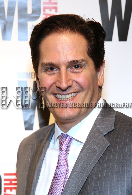 Nick Scandalios attends the WP Theater's 40th Anniversary Gala -  Women of Achievement Awards at the Edison Hotel on April 15, 2019  in New York City.