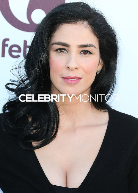 HOLLYWOOD, LOS ANGELES, CA, USA - DECEMBER 10: Sarah Silverman arrives at The Hollywood Reporter's 23rd Annual Power 100 Women In Entertainment Breakfast held at Milk Studios on December 10, 2014 in Hollywood, Los Angeles, California, United States. (Photo by Xavier Collin/Celebrity Monitor)