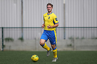 Scott Mitchell of Haringey during Haringey Borough vs Stanway Rovers, Emirates FA Cup Football at Coles Park Stadium on 25th August 2018