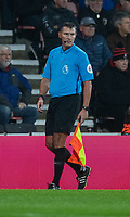 assistant referee Derek Eaton<br /> <br /> Photographer David Horton/CameraSport<br /> <br /> The Premier League - Bournemouth v Wolverhampton Wanderers - Saturday 23rd November 2019 - Vitality Stadium - Bournemouth<br /> <br /> World Copyright © 2019 CameraSport. All rights reserved. 43 Linden Ave. Countesthorpe. Leicester. England. LE8 5PG - Tel: +44 (0) 116 277 4147 - admin@camerasport.com - www.camerasport.com