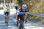 Tony Gallopin (FRA) AG2R La Mondiale near the end of Stage 4 of the Volta Ciclista a Catalunya 2019 running 150.3km from Llanars (Vall De Camprodon) to La Molina (Alp), Spain. 28th March 2019.<br /> Picture: Colin Flockton | Cyclefile<br /> <br /> <br /> All photos usage must carry mandatory copyright credit (© Cyclefile | Colin Flockton)