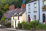County Clare, Ireland<br /> Bunratty Folk Park, village street scene
