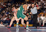 March 21 2009    Franklin Gomez (green) from Michigan State battles Reece Humphrey (red) from Ohio State in the 133 pound weight class in the championship round of the NCAA Division I  Wrestling Championships which were held March 19 through March 21, 2009 at the Scottrade Center in downtown St. Louis, Missouri.  Gomez won...         *******EDITORIAL USE ONLY*******
