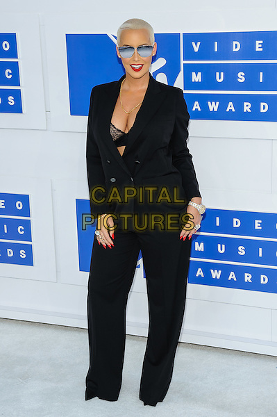 28 August 2016 - New York, New York - Amber Rose.  2016 MTV Video Music Awards at Madison Square Garden. <br /> CAP/ADM/MSA<br /> &copy;MSA/ADM/Capital Pictures