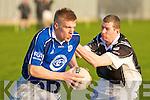 KOR's Tommy Walsh and Ardfert's Brendan O'Flaherty.