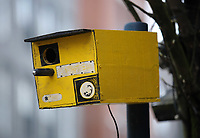 2017 04 04 Bird box resembles speed camera, Swansea, Wales, UK