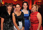 Anne Marie O'Leary, Deborah Anne O'Shea, Danielle O'Leary and Breda Cronin at  the Dr Crokes GAA Club Victory Celebration Night at the Inec, Killarney on Friday night. Picture: Eamonn Keogh (MacMonagle, Killarney)