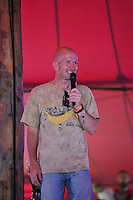 LONDON, ENGLAND - JULY 17: Eddie The Eagle(Michael Edwards) performing at Citadel, Victoria Park on July 17, 2016 in London, England.<br /> CAP/MAR<br /> &copy;MAR/Capital Pictures /MediaPunch ***NORTH AND SOUTH AMERICAS ONLY***