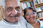 Portrait of an older couple. MR
