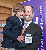 Opening of the Segal Visitors Center on the campus of Northwestern University (Photo by Jim Prisching)