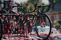 Team Cofidis spare bikes<br /> <br /> Stage 9: Arras Citadelle &gt; Roubaix (154km)<br /> <br /> 105th Tour de France 2018<br /> &copy;kramon
