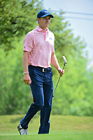 Jordan Spieth (USA) after sinking his putt on 10 during round 3 of the World Golf Championships, Dell Technologies Match Play, Austin Country Club, Austin, Texas, USA. 3/24/2017.<br /> Picture: Golffile | Ken Murray<br /> <br /> <br /> All photo usage must carry mandatory copyright credit (&copy; Golffile | Ken Murray)