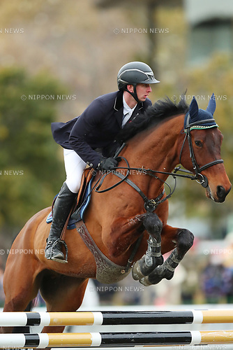 Felix Hassman (GER), <br /> MARCH 26, 2017 - Equestrian : <br /> CSI2 Kakegawa 2017 <br /> Exhibition Top Score <br /> at Tsumagoi Joba Club, Shizuoka, Japan.  <br /> (Photo by YUTAKA/AFLO)
