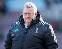 Harlequins Head Coach John Kingston<br /> <br /> Photographer Bob Bradford/CameraSport<br /> <br /> Aviva Premiership Round 14 - Harlequins v Wasps - Sunday 11th February 2018 - Twickenham Stoop - London<br /> <br /> World Copyright &copy; 2018 CameraSport. All rights reserved. 43 Linden Ave. Countesthorpe. Leicester. England. LE8 5PG - Tel: +44 (0) 116 277 4147 - admin@camerasport.com - www.camerasport.com