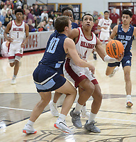 Springdale's Saturday, Feb. 8, 2020, Har-Ber's during the second half of play in Bulldog Arena in Springdale. Visit nwaonline.com/prepbball/ for a gallery from the games.<br /> (NWA Democrat-Gazette/Andy Shupe)