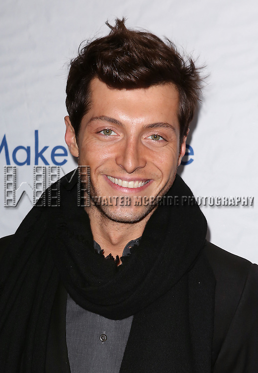 Evangelo Bousis attends the 14th Annual 'Only Make Believe' Gala at the Bernard B. Jacobs Theatre on November 4, 2013  in New York City.
