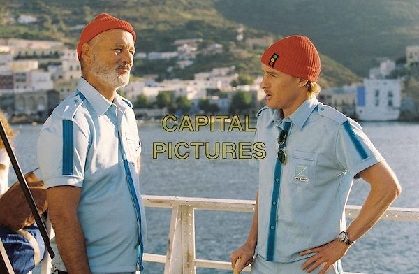 BILL MURRAY & OWEN WILSON.in Life Aquatic.Filmstill - Editorial Use Only.Ref: FB.www.capitalpictures.com.sales@capitalpictures.com.Supplied by Capital Pictures