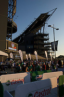 Castrol, Allstate, Sponsors. The USMNT tied Mexico, 1-1, during the game at Lincoln Financial Field in Philadelphia, PA.