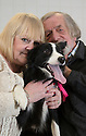 06/01/16<br /> <br /> Judith and Alan Gray with Holly at the PDSA Pet Hospital in Leicester.<br /> <br /> Holly is an 18-month-old Border Collie who was brought into PDSA's Leicester Pet Hospital suffering with acute peritonitis. Her chances of survival were as low as 1 in 10 but thanks to the tireless efforts of staff and three life-saving operations, Holly pulled through and is on the road to making a full recovery. Mr and Mrs Gray are extremely grateful for the care given by PDSA and their son Tim has even started a fundraising challenge – a dryathlon in January – to raise money for the charity.<br /> <br /> All Rights Reserved: F Stop Press Ltd. +44(0)1335 418365   +44 (0)7765 242650 www.fstoppress.com