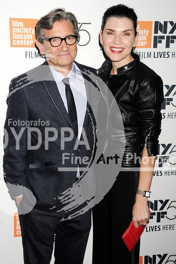 Griffin Dunne und Julianna Margulies bei der Premiere von 'Joan Didion: The Center Will Not Hold' auf dem 55. New York Film Festival in der Alice Tully Hall. New York, 11.10.2017