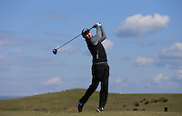 Liam Phipps during Round Two of the West of England Championship 2016, at Royal North Devon Golf Club, Westward Ho!, Devon  23/04/2016. Picture: Golffile | David Lloyd<br /> <br /> All photos usage must carry mandatory copyright credit (&copy; Golffile | David Lloyd)