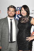 Jack Osbourne and Lisa Stelly at the 19th Annual Race To Erase MS - 'Glam Rock To Erase MS' event at the Hyatt Regency Century Plaza on May 18, 2012 in Century City, California. © mpi25/MediaPunch Inc.