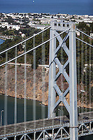 aerial photograph Bay Bridge Treasure Island San Francisco