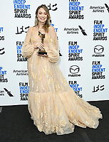 08 February 2020 - Santa Monica - Olivia Wilde. 2020 Film Independent Spirit Awards - Press Room held at Santa Monica Pier. Photo Credit: Birdie Thompson/AdMedia