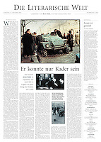 Die Welt, Germany, 2006 October 21, Photographer: Jenö Kiss