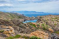 Spain, Costa Brava, Catalonia, Cadques. Cap de Creus Park.