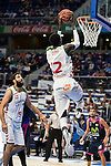 Laboral Kutxa's Mamadou Diop during Liga Endesa ACB at Barclays Center in Madrid, October 11, 2015.<br /> (ALTERPHOTOS/BorjaB.Hojas)