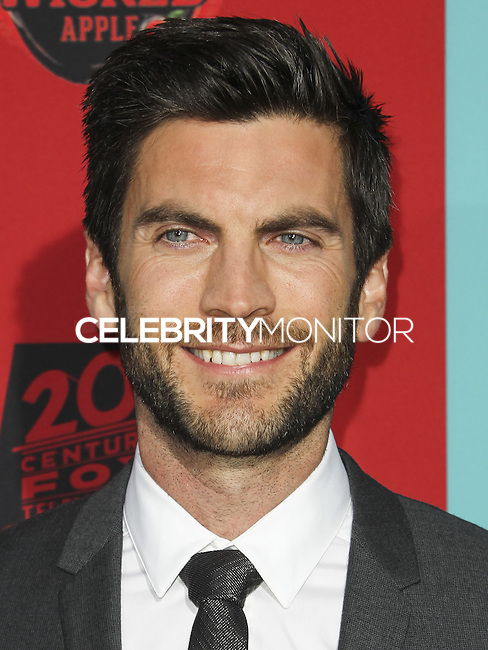 HOLLYWOOD, LOS ANGELES, CA, USA - OCTOBER 05: Wes Bentley arrives at the Los Angeles Premiere Screening Of FX's 'American Horror Story: Freak Show' held at the TCL Chinese Theatre on October 5, 2014 in Hollywood, Los Angeles, California, United States. (Photo by Celebrity Monitor)