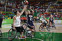 Gail Gaeng (USA),<br /> SEPTEMBER 15, 2016 - Wheelchair Basketball : <br /> Women's Final match between USA 62-45 Germany<br /> at Rio Olympic Arena<br /> during the Rio 2016 Paralympic Games in Rio de Janeiro, Brazil.<br /> (Photo by Shingo Ito/AFLO)