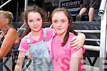 Enjoying the open air Celli at Fieadh cheoil in Killarney on Sunday were Katie Palmer and Ava O'Shea