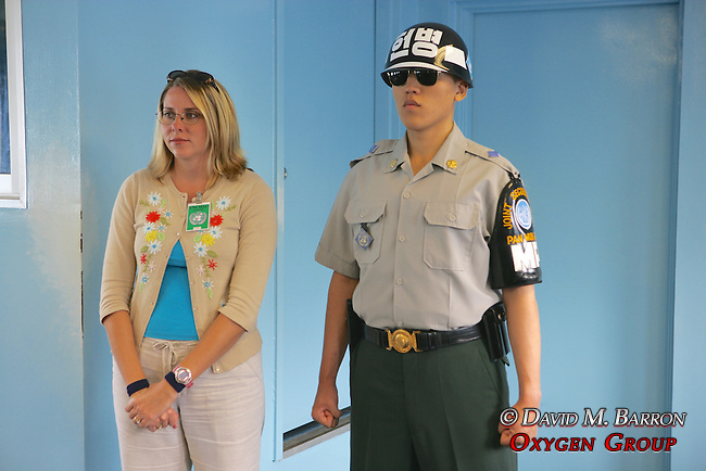 Tourist Inside North Korea, Inside Panmunjeom, JSA, Joint Security Area