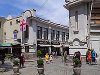 Ausgehviertel Bambis Rigi, Tiflis – Tbilissi, Georgien, Europa<br /> nightlife area Bambis Rigi, Tbilisi, Georgia, Europe