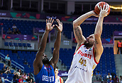 7th September 2017, Fenerbahce Arena, Istanbul, Turkey; FIBA Eurobasket Group D; Russia versus Great Britain; Small Forward Nikita Kurbanov #41 of Russia shoots on the basket during the match