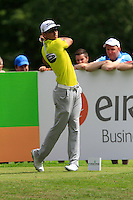 Rafa Cabrera-Bello (ESP) on the 10th tee during Round 2 of the Irish Open at Fota Island on Friday 20th June 2014.<br /> Picture:  Thos Caffrey / www.golffile.ie