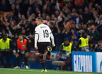 Valencia Rodrigo Moreno celebrating his goal during the UEFA Champions League match between Chelsea and Valencia  at Stamford Bridge, London, England on 17 September 2019. Photo by Andrew Aleksiejczuk / PRiME Media Images.