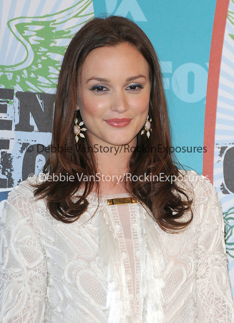 Leighton Meester at Fox Teen Choice 2010 Awards held at he Universal Ampitheatre in Universal City, California on August 08,2010                                                                                      Copyright 2010 © DVS / RockinExposures