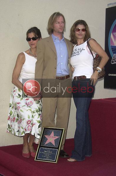 Wendie Malick, David Spade and Laura San Giacomo