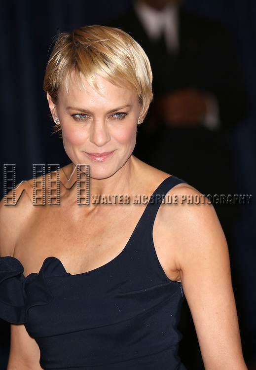 Robin Wright  attending the  2013 White House Correspondents' Association Dinner at the Washington Hilton Hotel in Washington, DC on 4/27/2013