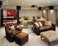Casual Media Room