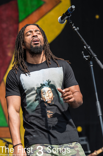 Dwayne Anglin of The Wailers performs during the New Orleans Jazz & Heritage Festival in New Orleans, LA.