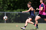 CARY, NC - MAY 04: Samantha Witteman. The North Carolina Courage held a training session on May 4, 2017, at WakeMed Soccer Park Field 6 in Cary, NC.