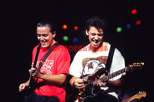 Tears For Fears 1985 Roland Orzabel and Curt Smith.© Chris Walter.