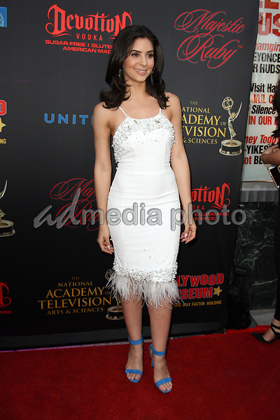 26 April 2017 - Los Angeles, California - Camila Banus. Daytime Emmy Awards Nominee Reception held at The Hollywood Museum in the world famous Max Factor Building. Photo Credit: AdMedia