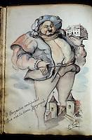 Europe/France/89/Yonne/Chablis: Le Livre d'Or de l'Hotel Bergeraud avec des signatures célèbres ici Victor Hugo
