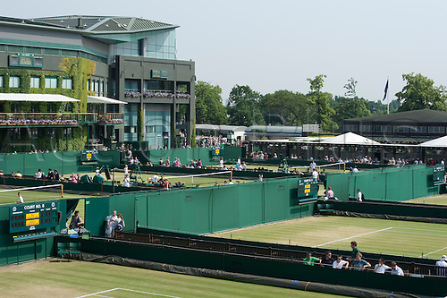 June 26th 2010: Wimbledon International Tennis Tournament held at the All England Lawn Tennis Club, London, England,