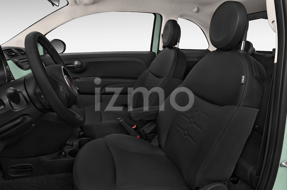 Front seat view of a 2015 Fiat 500 POP 3 Door Hatchback Front Seat car photos